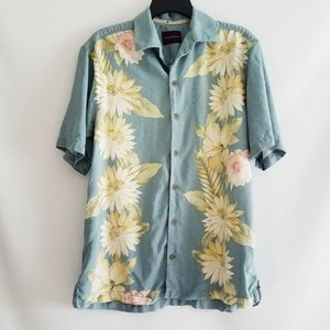 Tommy Bahama Floral Short Sleeve Button Down Shirt